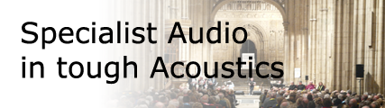 Audio for tough Acoustics